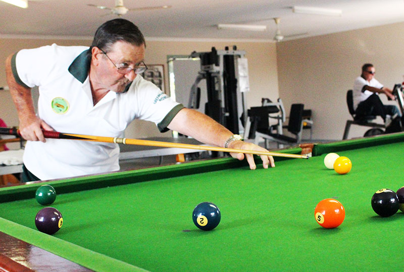 Greenbank Gardens Snooker Room